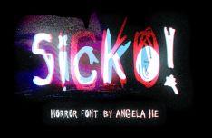 Sicko Horror Font