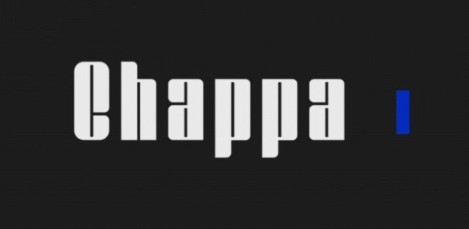 Chappa Display Font
