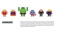 Android Superhero Vector