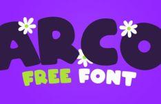 ARCO Cute Font