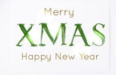 White Christmas SVG Serif Font