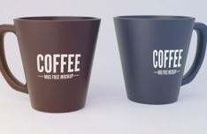 Realistic Coffee Mug PSD Mockup
