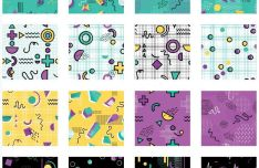 20 Seamless Vector Patterns