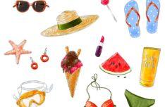 Summer Accesoires PSD