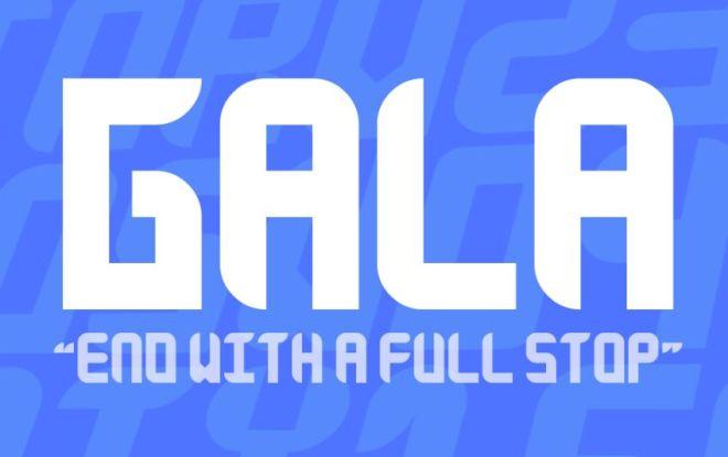 Gala Typeface