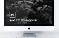 iMac 2019 27 Mockup PSD