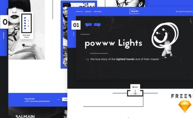 Digital Agency Web Template For Sketch App