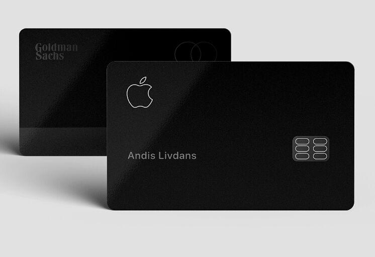 Free Realistic Apple Card Mockup For Adobe XD - TitanUI
