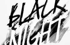 Blacknight Handbrush Font