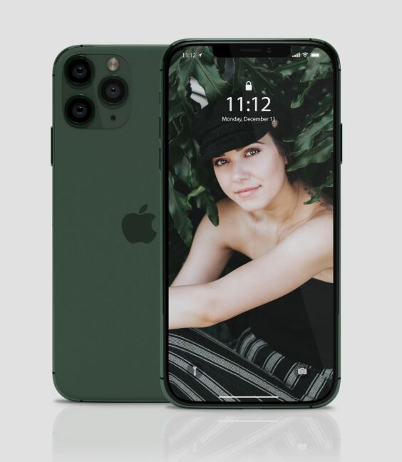 Easy Editable iPhone 11 Pro PSD Mockup