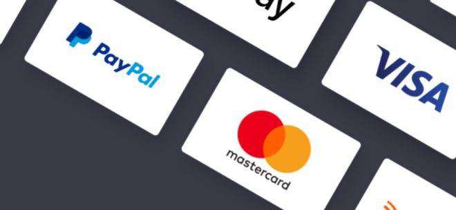 24 Minimal Payment Method & Credit Card Icons (EPS)