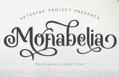 Monabelia Playfully Script Font
