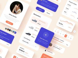 Clean App Design For Figma
