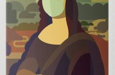 COVID Lisa Vector Illustration