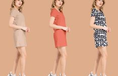 Basic Female Dress Mockup PSD