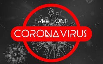 Coronavirus Font