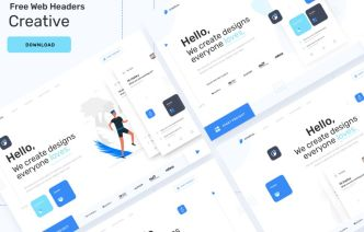 Modern Creative Web Header Template