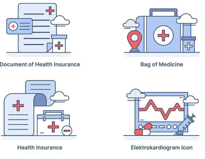 12 Medial & Plants Icons Vector