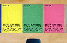 Wall Paper Poster Mockup
