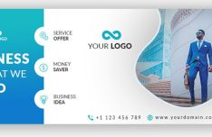 Professional Business Facebook Cover Template