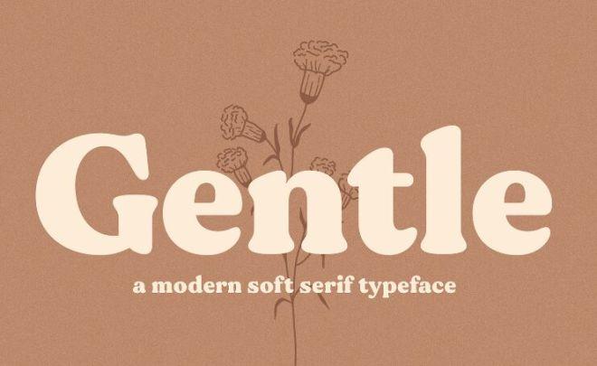 Gentle Modern Typeface