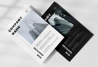 Professional High Quality Corporate Flyer Template