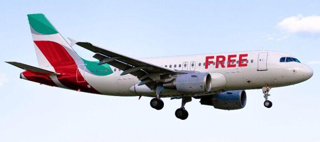 Realistic Airplane PSD Mockup