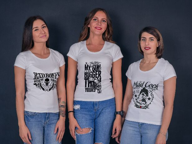 Nice Looking Women's T-Shirt Mockup