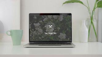 Easy Macbook Pro PSD Mockup (4 Screens)