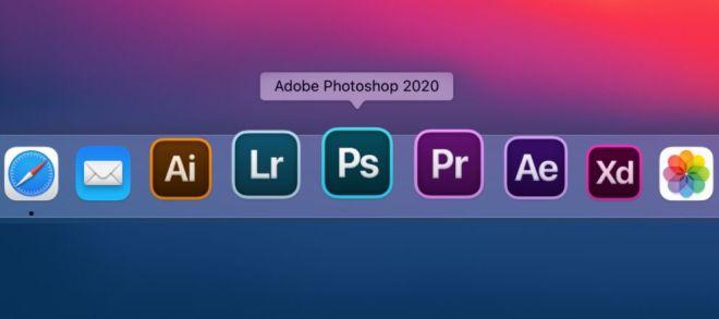 macOS Big Sur Style Adobe Icons Sketch