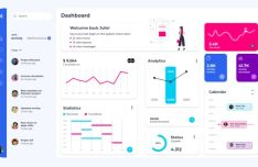 50+ Dashboard UI Components For Adobe XD