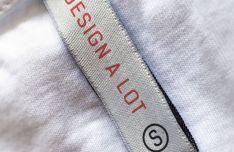 Realistic T-Shirt Label PSD Mockup