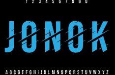 Jonok Vector Font