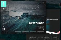 GoSurf Web Template Sketch