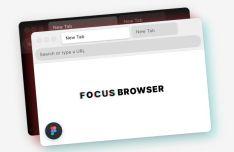 Minimalistic Web Browser Figma Mockup