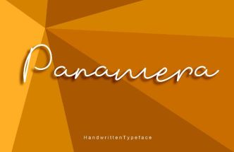 Panamera Signature Font
