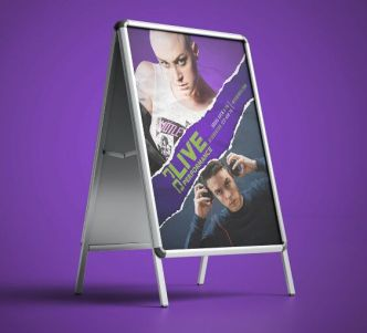 DJ Party Poster Flyer PSD Template
