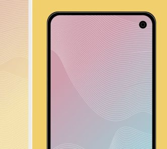 Editable Galaxy S10 Mockup PSD