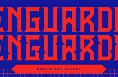 Enguarda Gothic Font