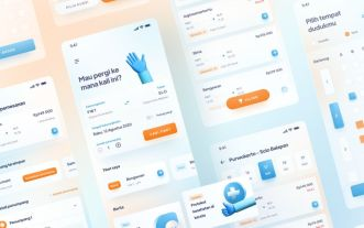 Train Ticketing Mobile App Figma