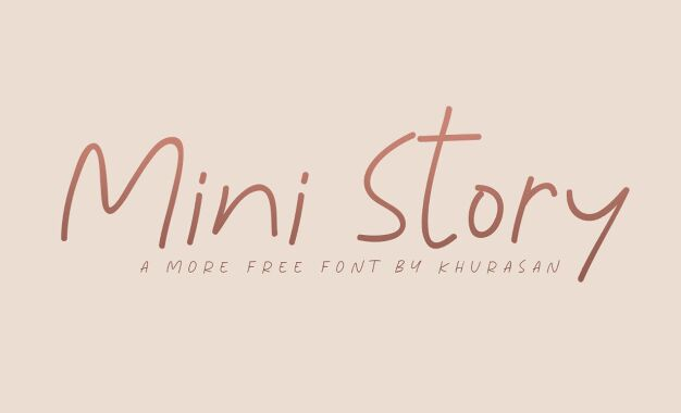 Mini Story Font