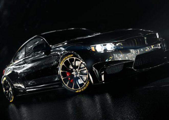 BMW Black Night 3D Model