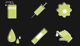 Minimal Medical Icon Set Vector