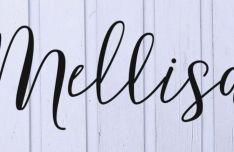 Mellisa Script Font