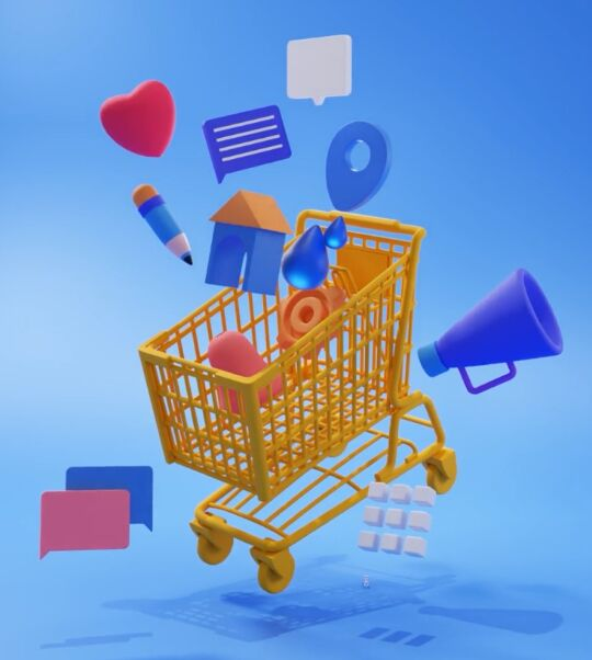 3D eCommerce Icons (Sketch, Figma And PNG)