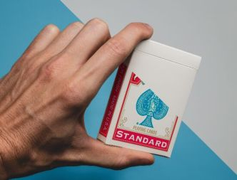 Playing Card Box PSD Mockup