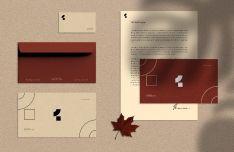 Realistic Autumn Stationary Mockup PSD