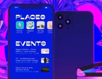 iPhone 12 Pro Scene Mockup PSD