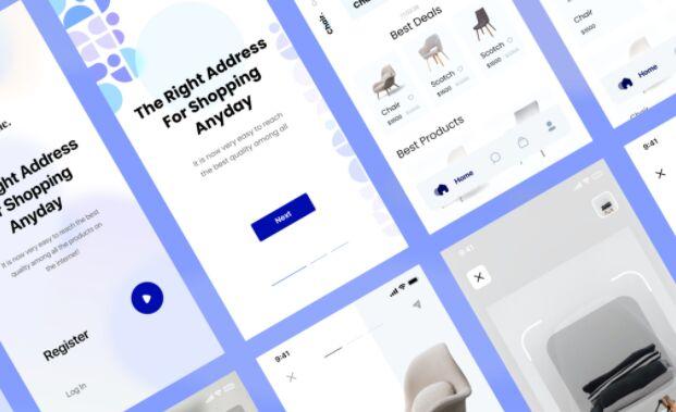 E-Commerce Shopping UI Kit For Adobe XD