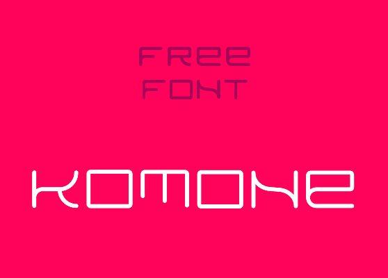 KOMONE Font